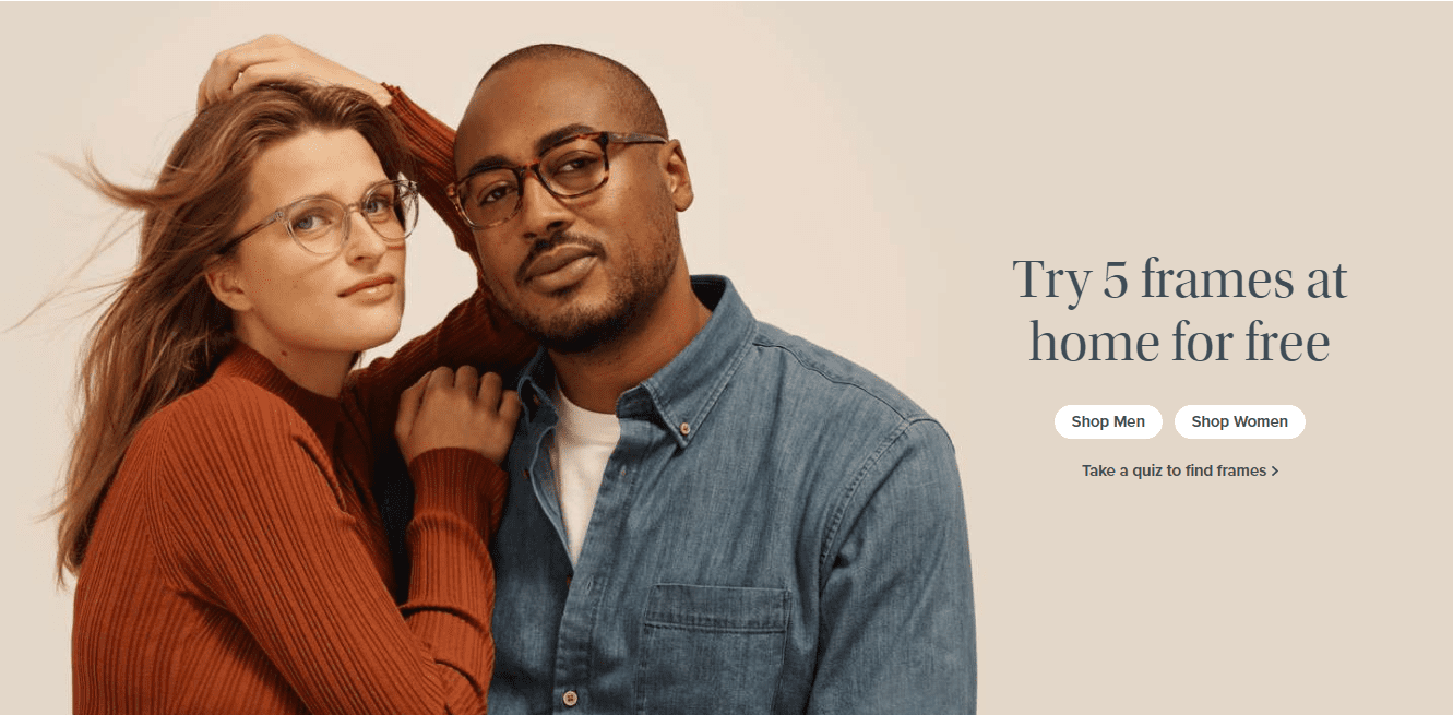 Warby Parker Free Trial Guarantee