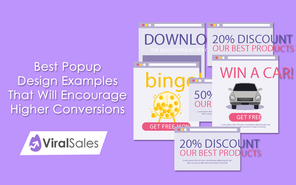 Best Popup Design Examples That Will Encourage Higher Conversions